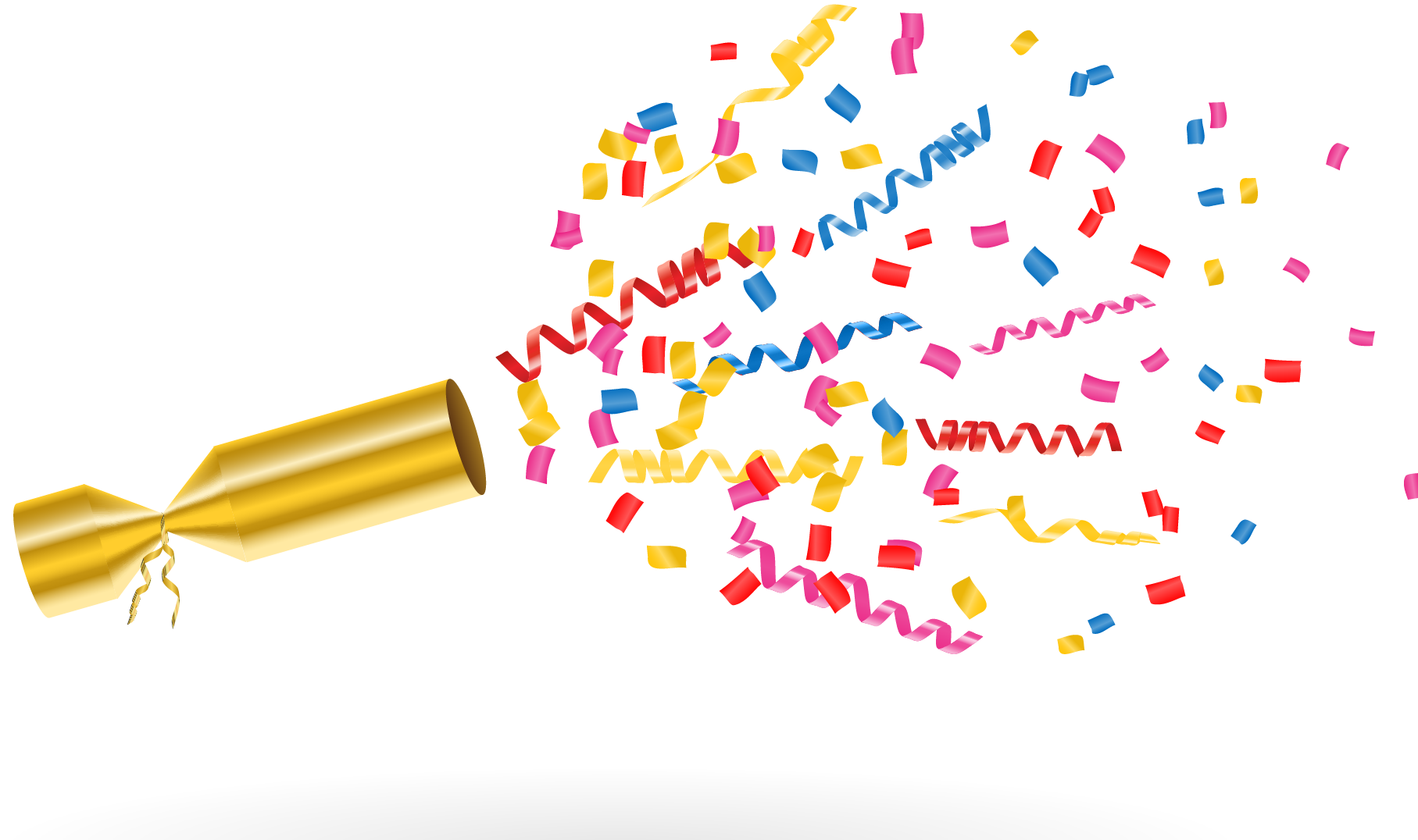 Party confetti image