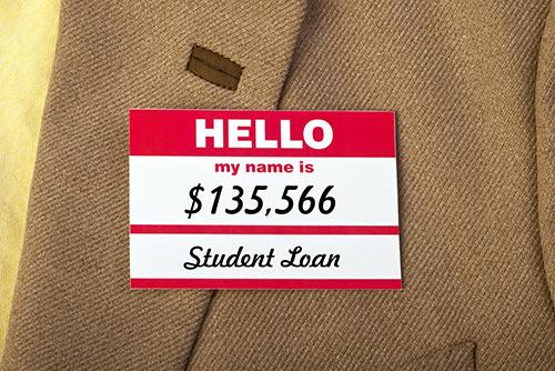 Student loan tag