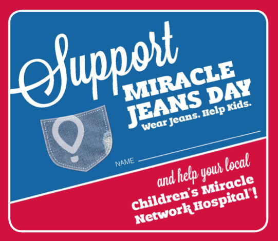 Support Miracle Jeans Day