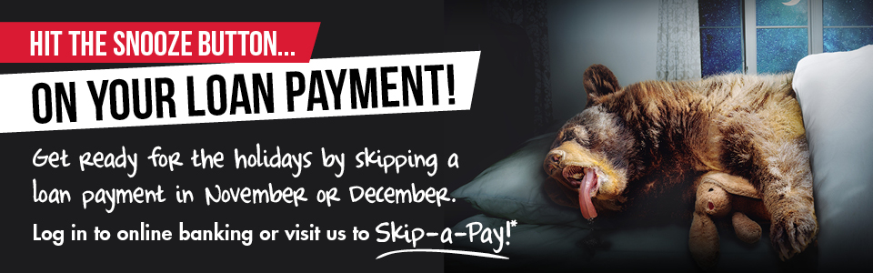 Skip your loan payment