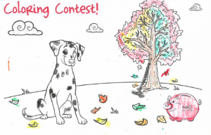 Sparky coloring page