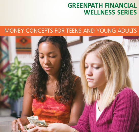Greenpath Financial Wellness series. Teens learn about finances.