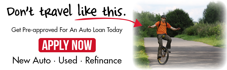 Apply for an auto loan today