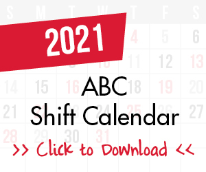 2018 ABC Shift Calendar