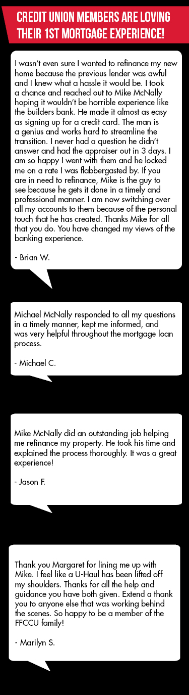 Members are loving their First Mortgage experience