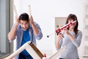 Couple Doing Home Repairs