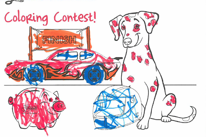 Keep Your Eye Out For Sparkys Next Newsletter To Spot What Fun Sparky Smokey Are Getting Into Coloring Contest
