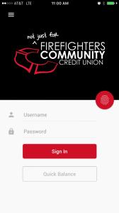 Mobile App Homepage